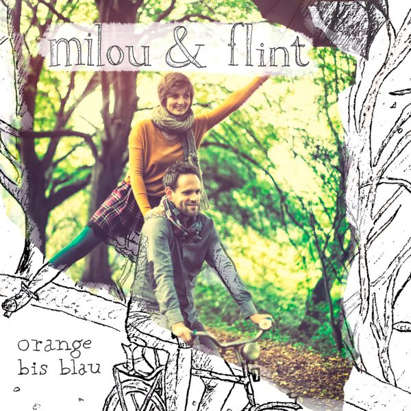Milou & Flint - Orange bis blau